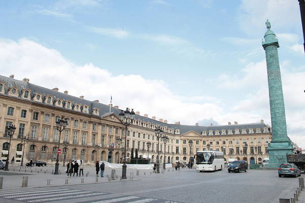 Photograph - Place Vendome by Christopher Kirby