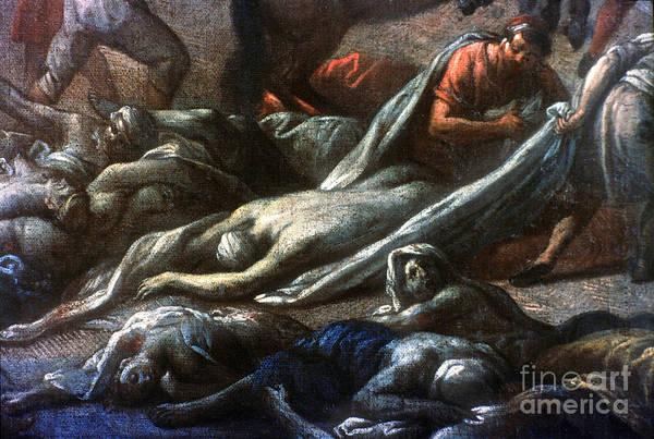 Photograph - Plague In Marseilles, 1720 by Granger