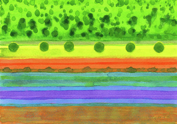 Similar Painting - Plain With Red Field by Heidi Capitaine