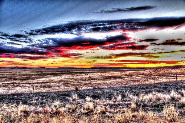 Photograph - Plains Sunset by Beauty For God