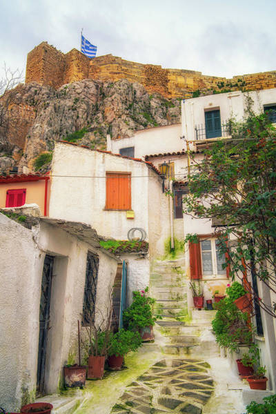 Photograph - Plaka by James Billings