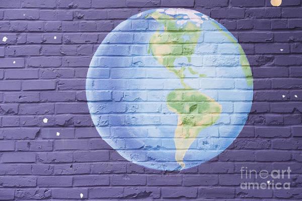 Mural Photograph - Planet Earth by Juli Scalzi