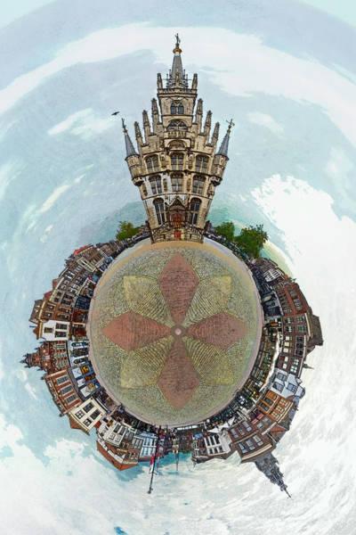 Planet Gouda Art Print