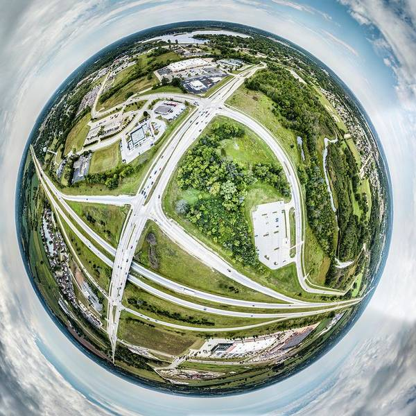 Photograph - Planet Mukwonago by Randy Scherkenbach