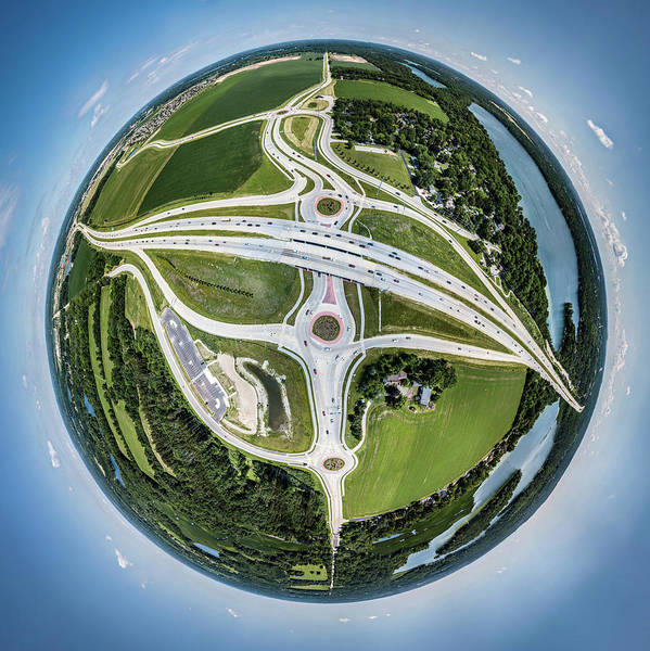 Photograph - Planet Of The Roundabouts by Randy Scherkenbach