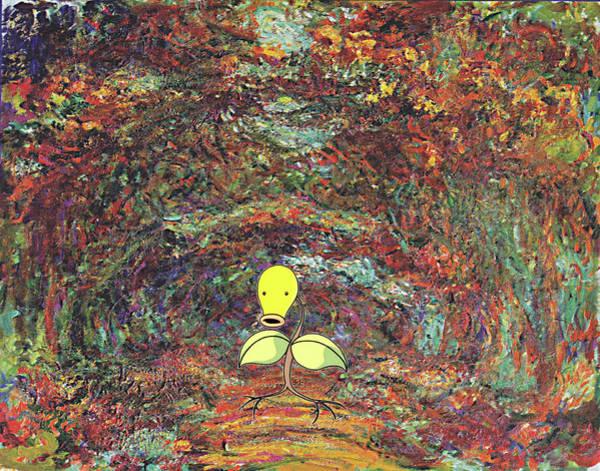 Pokemon Wall Art - Digital Art - Planet Pokemonet  by Greg Sharpe