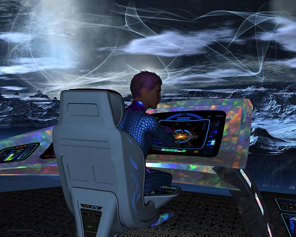 Digital Art - Planetary Exploration by Judi Suni Hall