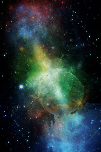 Painting - Planetary Soul Nitika by Christina VanGinkel