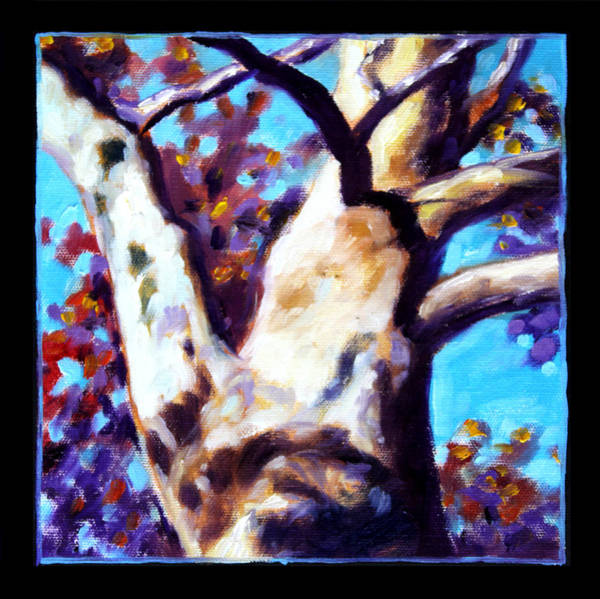 Sycamore Painting - Planets Image Eight by John Lautermilch