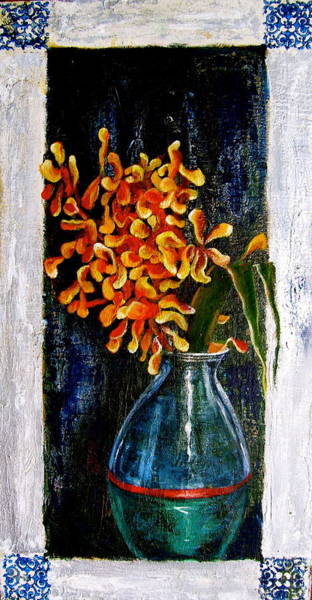 Wall Art - Painting - Plant by Laura Pierre-Louis