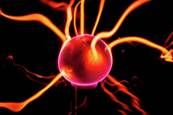 Photograph - Plasma Blasted by Tyson Kinnison