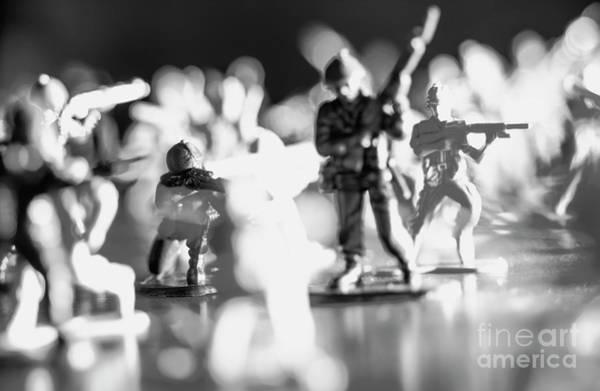 Wall Art - Photograph - Plastic Army Men 2 by Micah May