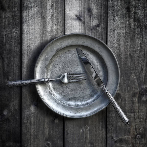 Silverware Photograph - Plate With Silverware by Joana Kruse