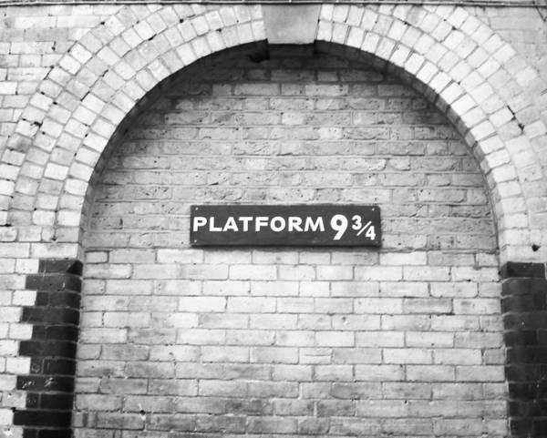 Potter Wall Art - Photograph - Platform 9 3/4 by Krista Pastecchi