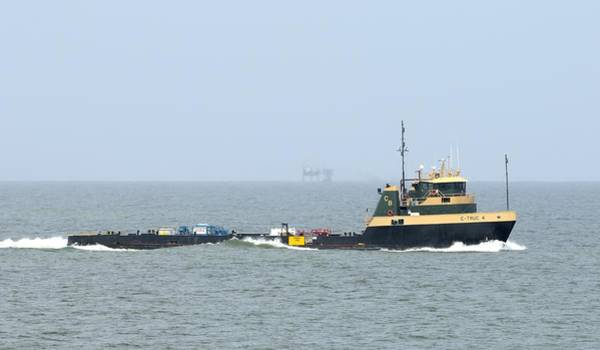 Photograph - Platform Supply Vessel C-truc 4 by Bradford Martin
