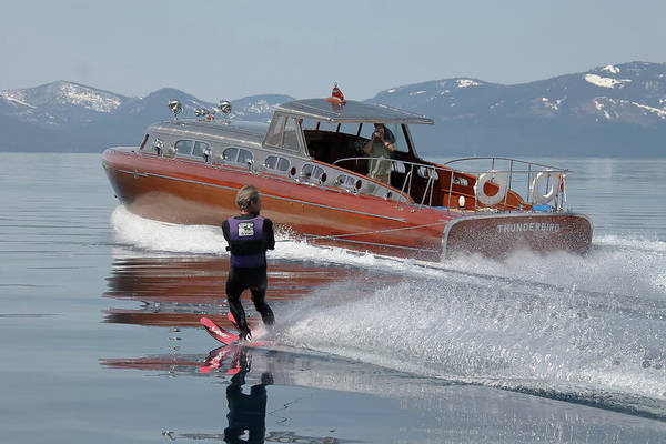 Photograph - Play Day On Lake Tahoe by Steven Lapkin