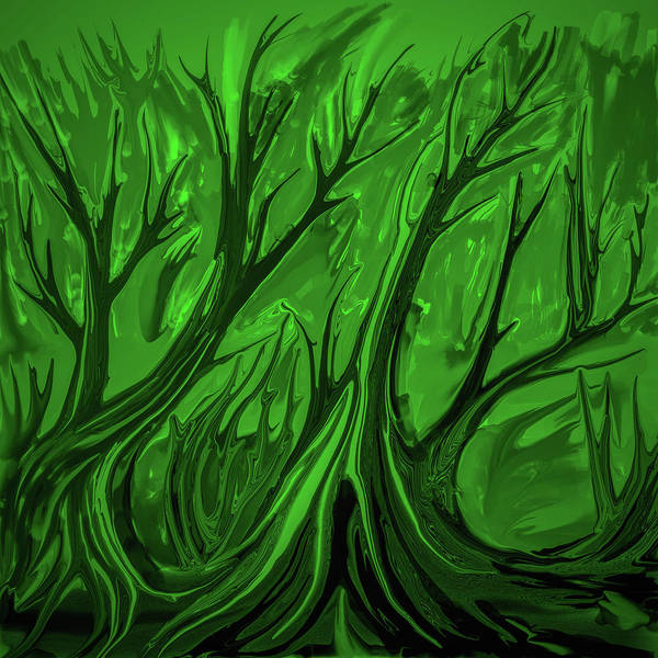 Digital Art - Play Green #h6 by Leif Sohlman