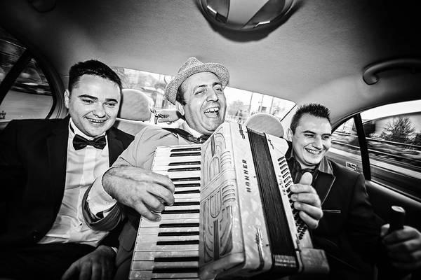 Tudor Photograph - Play That Accordion, Boss! by Marius Tudor