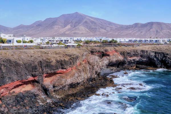 Grande Wall Art - Photograph - Playa Blanca - Lanzarote by Joana Kruse