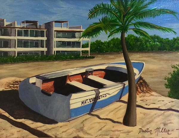 Painting - Playa Del Carmen by Dustin Miller