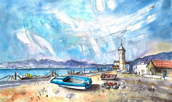 Painting - Playa Las Salinas 02 by Miki De Goodaboom
