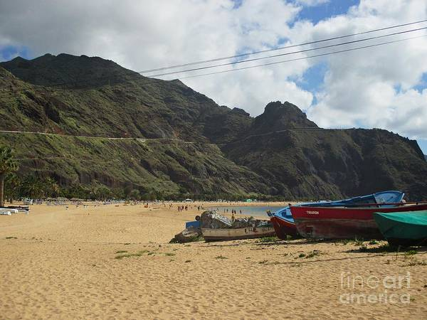 Photograph - Playa Las Teresitas Tenerife by Chani Demuijlder