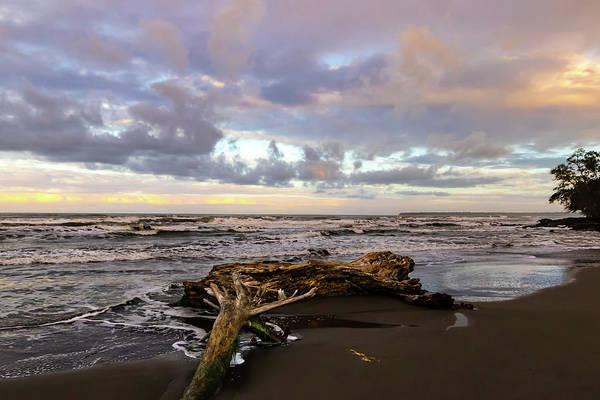 Cahuita Photograph - Playa Negra Beach Storm Clouds by Norma Brandsberg