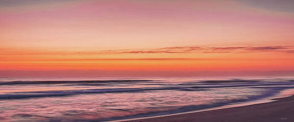 Photograph - Playalinda Sunrise Mug Shot by John M Bailey