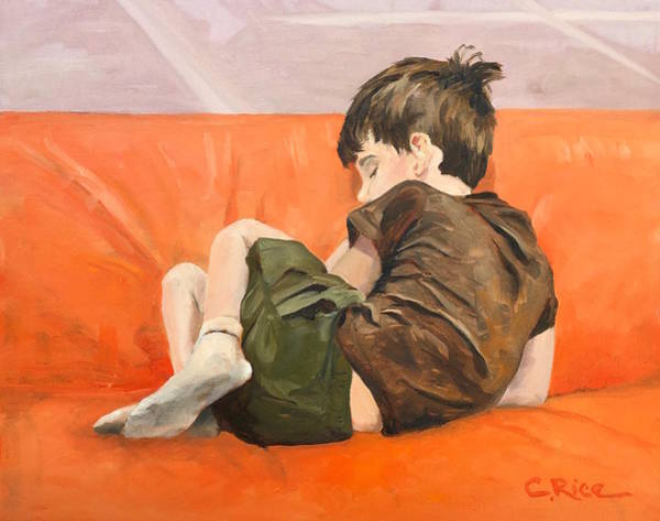 Snuggle Painting - Playdreams by Chris Rice
