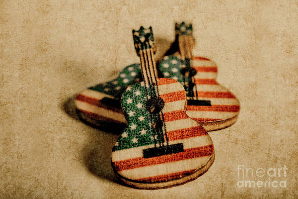 Country Music Photograph - Played In America by Jorgo Photography - Wall Art Gallery