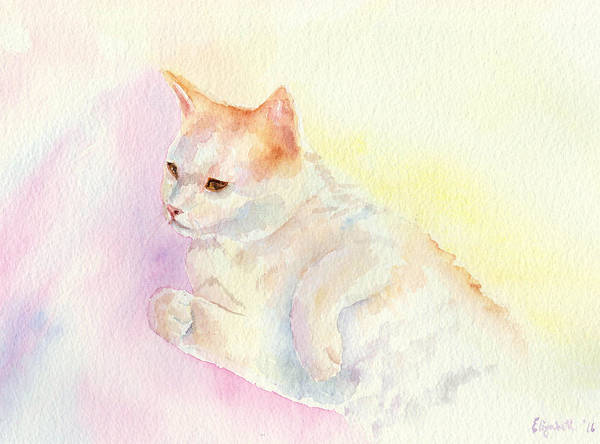 Painting - Playful Cat IIi by Elizabeth Lock
