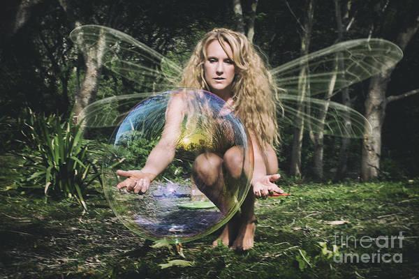 Photograph - Playful Fairy by Clayton Bastiani