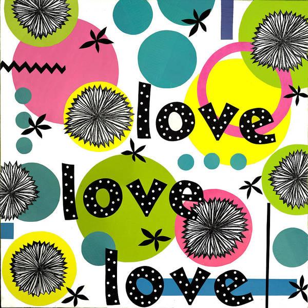 Wall Art - Mixed Media - Playful Love by Gloria Rothrock