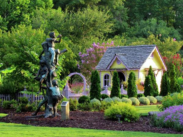 Photograph - Playhouse In The Garden by Cynthia Guinn