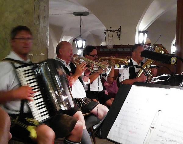 Photograph - Playing At The Hofbrau by Coleman Mattingly