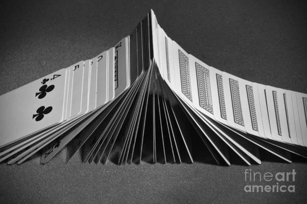 Playing Cards Domino Art Print