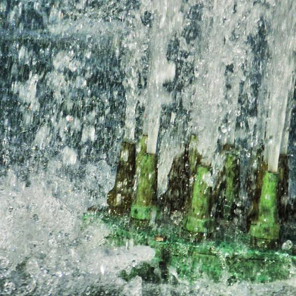 Photograph - Playing In The Water Fountain! by Cheray Dillon