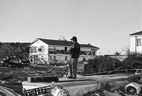 Lower Ninth Ward Photograph - Playing Over The Noise by William Morgan
