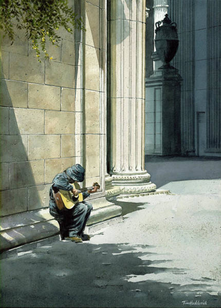 Wall Art - Painting - Playing The Palace by Tom Hedderich