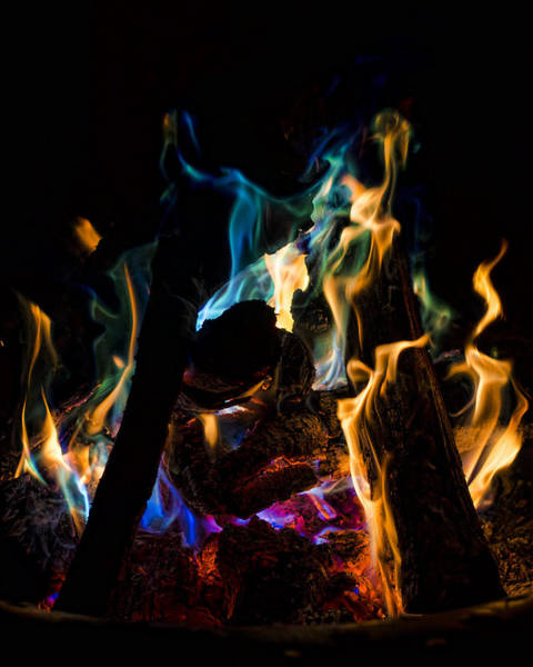 Photograph - Playing With Fire II by Heather Applegate
