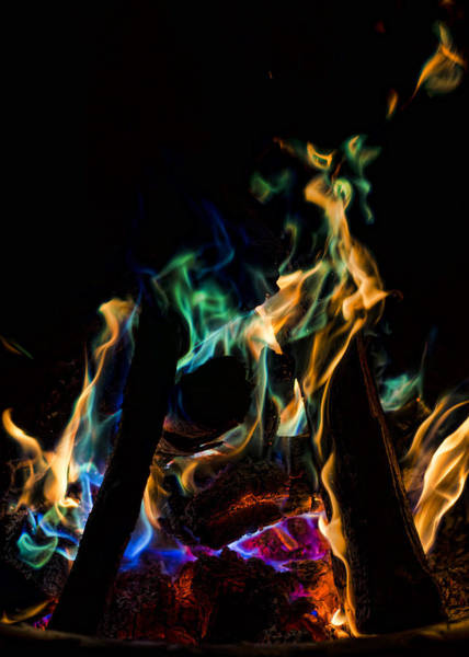 Photograph - Playing With Fire IIi by Heather Applegate