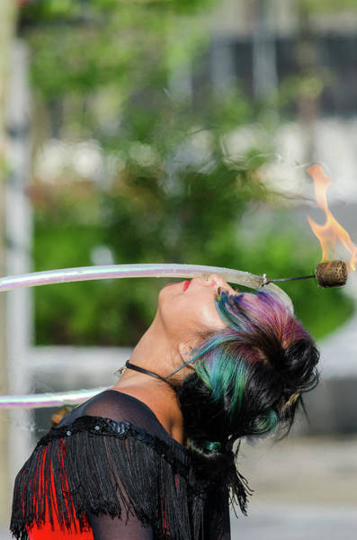 Photograph - Playing With Fire by Stewart Helberg