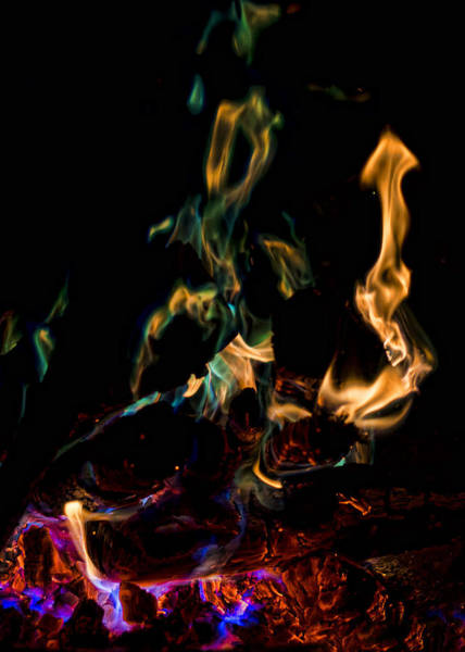 Photograph - Playing With Fire V by Heather Applegate