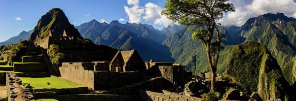 Wall Art - Photograph - Plaza At Machu Picchu by Oscar Gutierrez