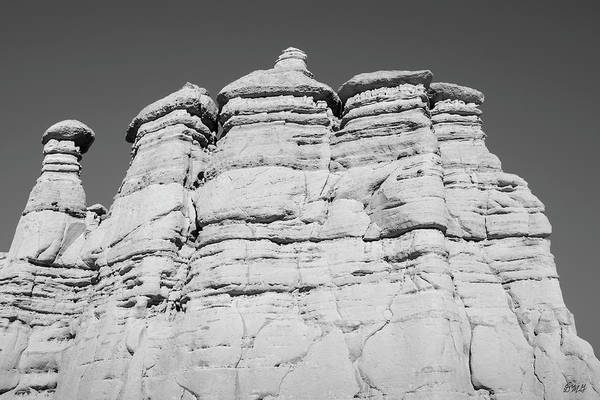 Photograph - Plaza Blanca Abiquiu Nm IIi Bw by David Gordon