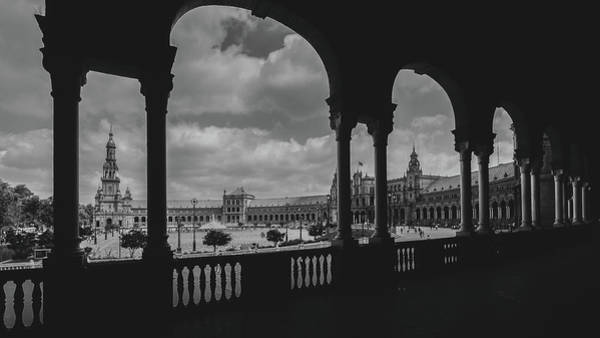 Photograph - Plaza De Espana In Sevilla, Spain by Alexandre Rotenberg
