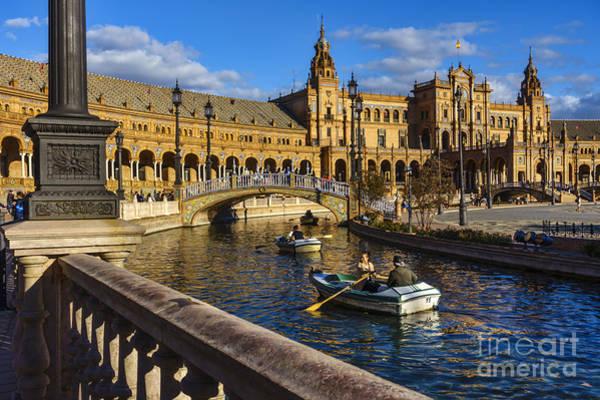 Photograph - Plaza De Espana Seville Spain by Pablo Avanzini