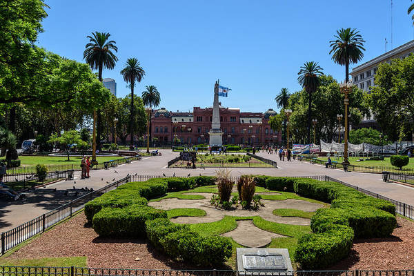 Photograph - Plaza De Mayo by Randy Scherkenbach