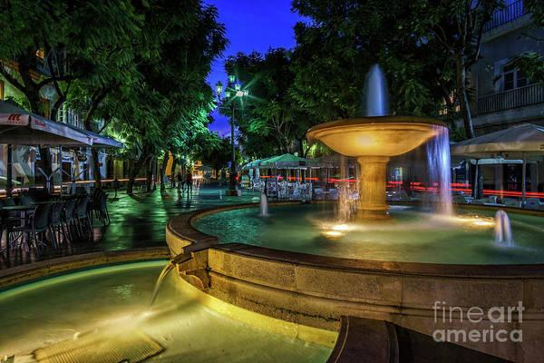Photograph - Plaza Del Mentidero Cadiz Spain by Pablo Avanzini