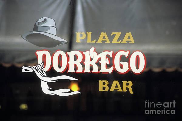 Photograph - Plaza Dorrego Bar Buenos Aires by James Brunker